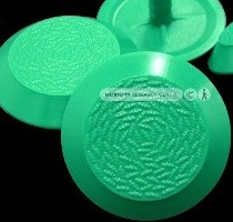 MRC Polyurethane Warning Tactile Studs (MRC Queenstown Green)