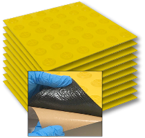 Polymer Peel & Stick Tac-Tiles