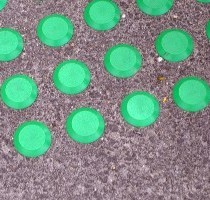 Tactiles on Queenstown Pavements