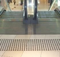 Warning Tactiles at Sylvia Park Escalators